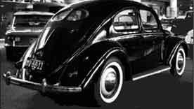Classic car Beetle black