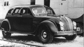 Classic car Chrysler Airflow