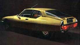 Classic car Citroen SM