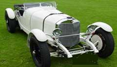 classic Mercedes Benz car