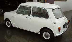 Morris Mini classic car
