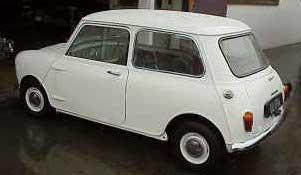 Morris Mini classic car