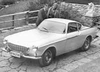 Classic car Volvo P1800