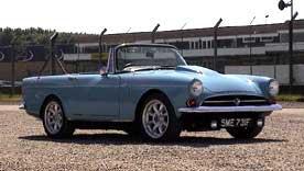 Sunbeam Tiger classic car