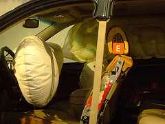 Inflated airbag
