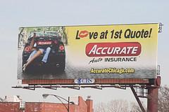 Billboard of an insurance company