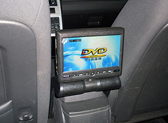 DVD player in the car