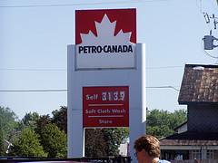 Petro Canada signage
